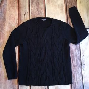 Tommy Hilfiger Navy Blue Cable Knit Xl Sweater